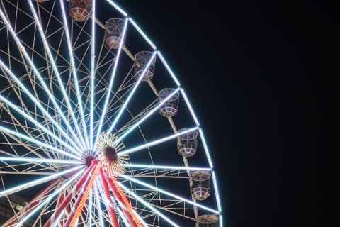 Kerstmarkt stad Antwerpen reuzerad