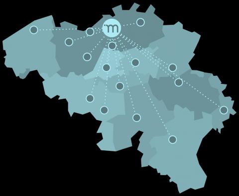 Nieuw bijkantoor van Modero Brussel