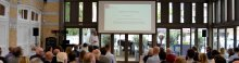 Opleidingsmarathon Modero Academy presentatie spreker en publiek